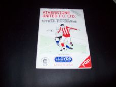 Atherstone United v Gloucester City, 1993/94